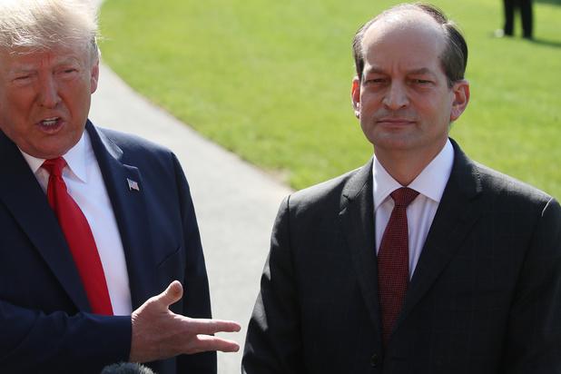 Au tour du ministre du Travail de Trump de démissionner