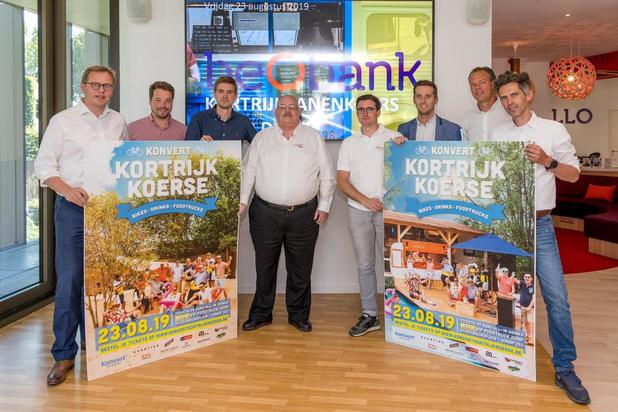 Kortrijk Koerse pakt uit met nieuwe sponsor en Kortrijkzanenkoers voor duo's