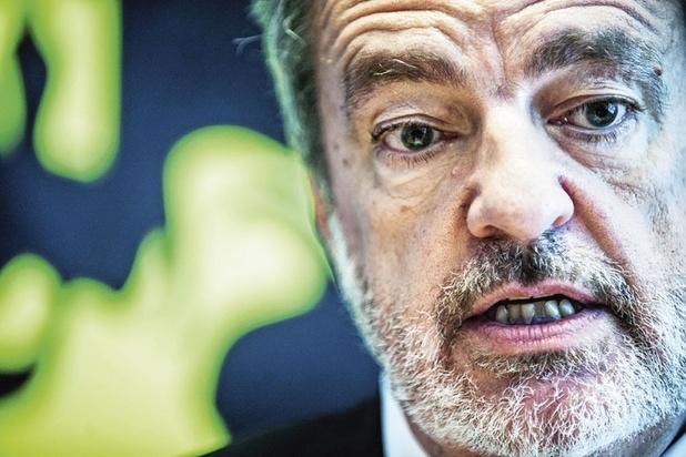 Europees Parlementslid Gerolf Annemans (Vlaams Belang) wil zijn vlag terug