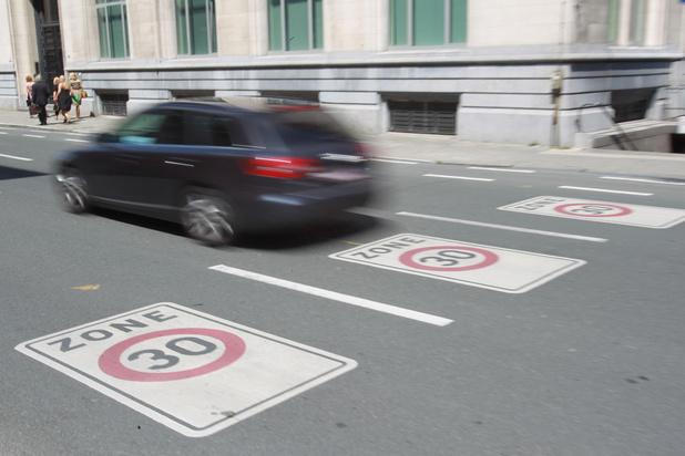Limitation de vitesse à 30 km/h à Bruxelles dès le 1er janvier 2021