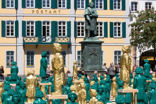 """L'Allemagne célèbre Beethoven, """"pop-star de 250 ans"""""""