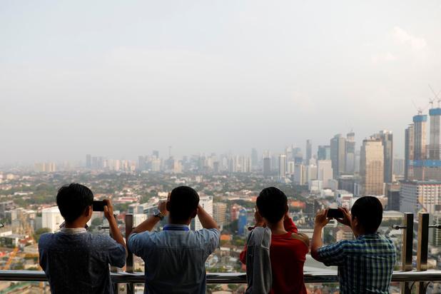 Jakarta s'enfonce sous les eaux