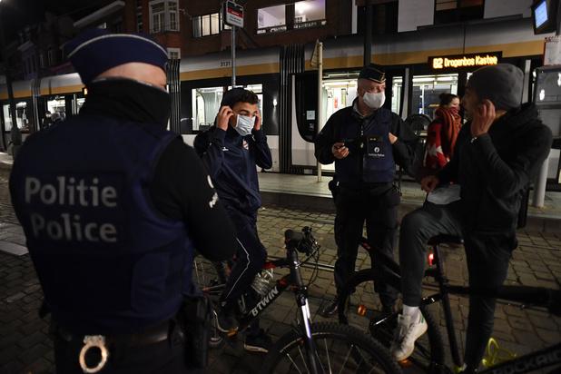 Opnieuw incident met Brusselse politie bij coronacontrole