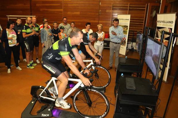 Home Land of Cycling ingefietst in Kemmel