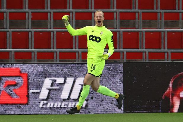 Scorende doelman bezorgt Standard gelijkspel tegen Eupen