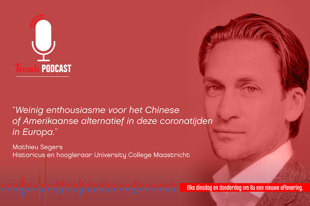 Trends Podcast met hoogleraar Mathieu Segers: 'De EU is een dubbeltje op zijn kant'