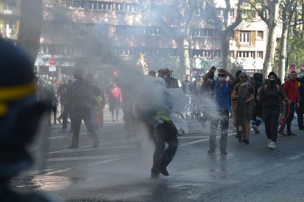 """Gilets jaunes : l'acte 22 à Toulouse, """"capitale des gilets jaunes"""", émaillé de heurts"""