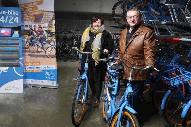 Blue-bike opent tweede locatie voor deelfietsen in Brugge
