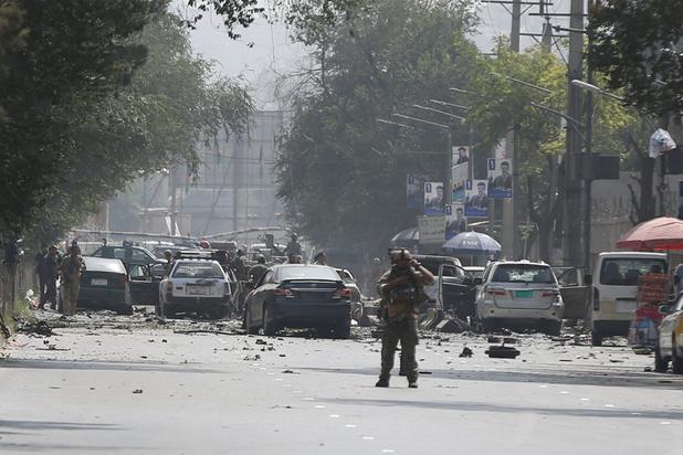 Afghanistan: 10 morts dans un attentat-suicide revendiqué par les talibans à Kaboul