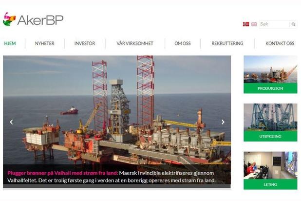 Aker BP: plus d'un milliard de chiffre d'affaires en un trimestre