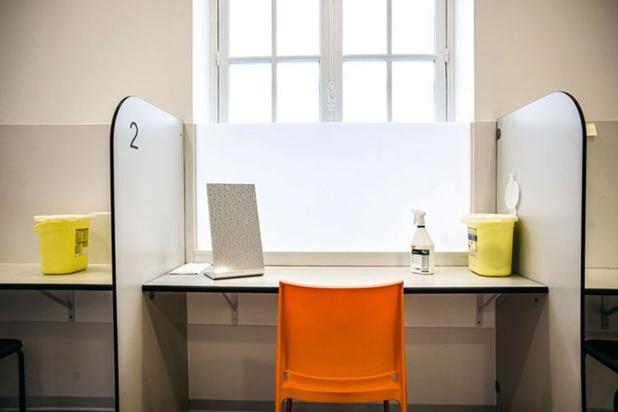La salle de shoot de Liège reçoit une enveloppe annuelle de 830.000 euros, pour pérenniser le projet