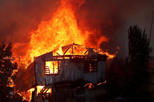 Kwaad opzet bij grootschalige bosbranden in Chili