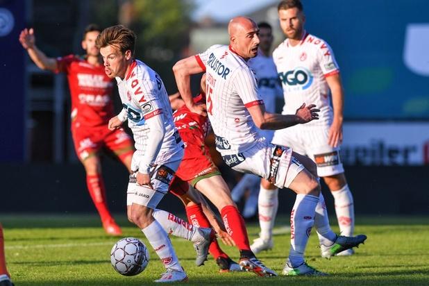 Jupiler Pro League: Courtrai en tête dans le groupe B après sa victoire à Zulte-Waregem