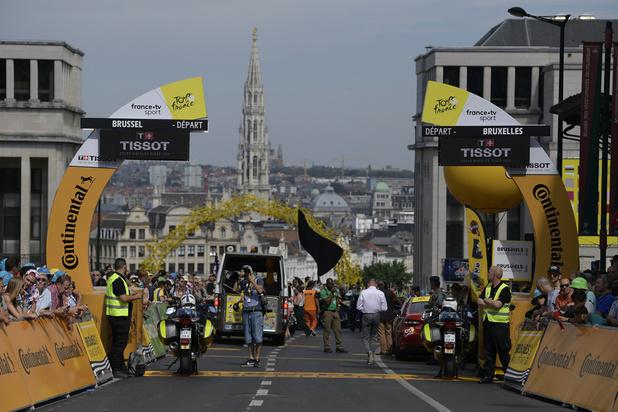La 106e édition du Tour de France s'est élancée à 12h26 de Bruxelles