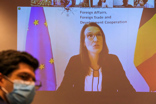 """Pour Sophie Wilmès, c'est un """"raccourci intellectuel"""" de dire que le CNS du 23/09 a provoqué la deuxième vague"""