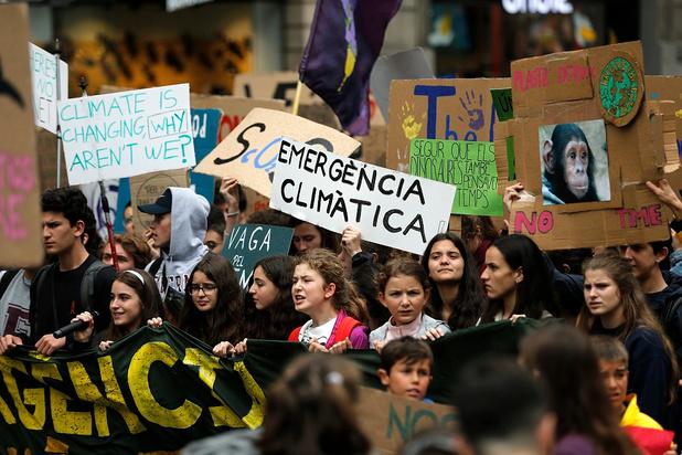 Ailleurs en Europe, des milliers de jeunes ont aussi défilé pour le climat