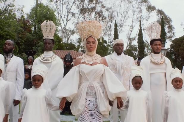 Beyoncé lost trailer van 'Black is King'
