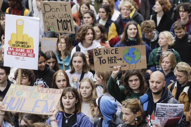 """Grève pour le climat : des actions prévues dans 7 villes belges pour """"relever la barre"""""""