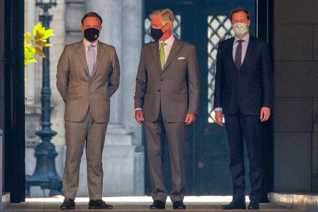 Le roi prolonge la mission de Bart De Wever et Paul Magnette jusqu'au 17 août
