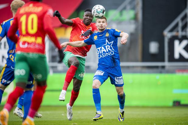 Jupiler Pro League: Ostende, 4e, surpris à domicile par le dernier Waasland-Beveren (0-2)