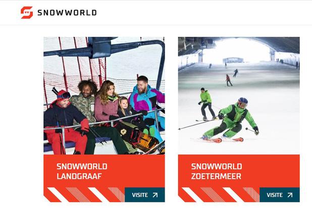 SnowWorld tout schuss sur la voie de la croissance
