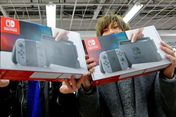 La Switch dynamise les chiffres de Nintendo
