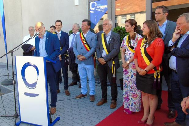 Officiële opening sportcentrum Marie Thérèse De Gryse in Oostende