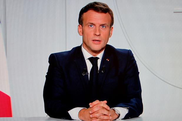 """Covid: Macron annonce un confinement """"adapté"""""""