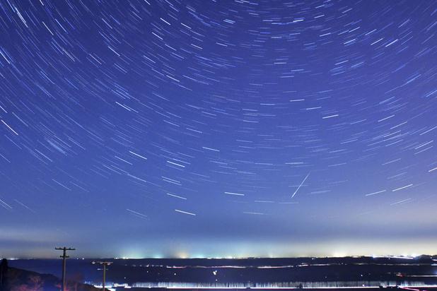 Zaterdagnacht eerste grote meteorenzwerm van het jaar te zien