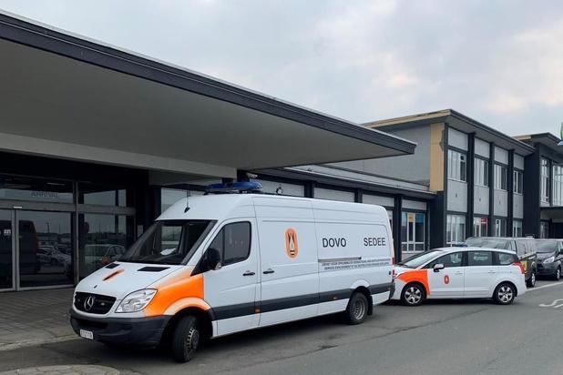Verdacht pakket op luchthaven Oostende bleek loos alarm