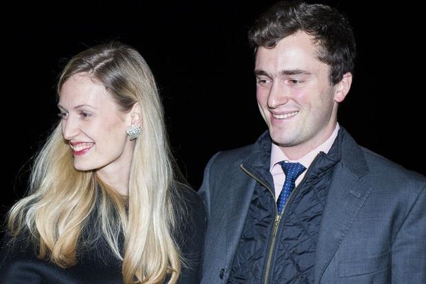 Le prince Amedeo et son épouse la princesse Elisabetta ont eu un fils