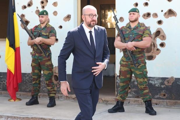 Premier Michel brengt samen met Rwandese collega eerbetoon aan Belgische blauwhelmen