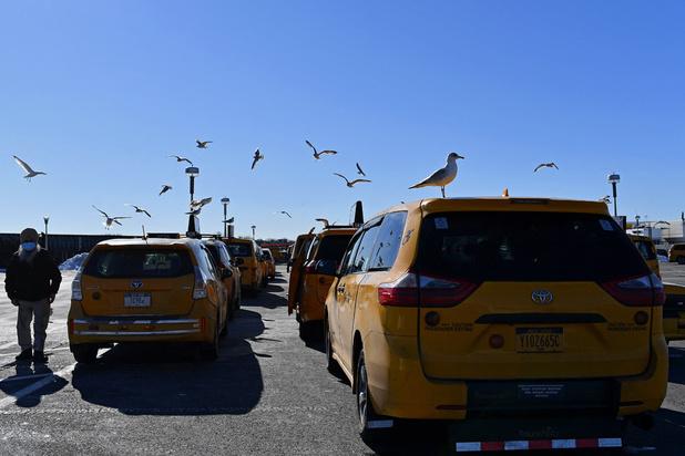 Les taxis jaunes, une institution new-yorkaise en voie de disparition?