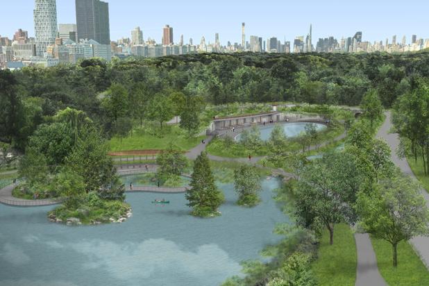 Central Park in New York krijgt opknapbeurt van 110 miljoen dollar