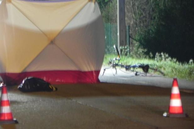 Dodelijk ongeval met fietser in Westrozebeke