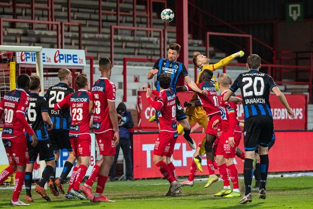Jupiler Pro League: Mené au score, le Club de Bruges s'impose 1-2 à Courtrai