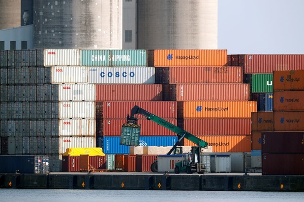 België boekt grootste handelsoverschot in vijftien jaar