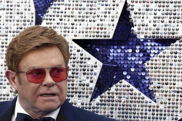 Elton John veroordeelt Russische censuur van film over zijn leven