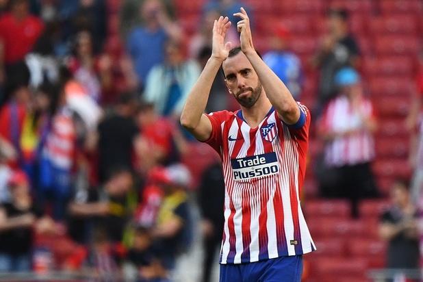 Godin annonce dans les larmes son départ de l'Atlético