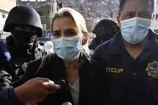 Bolivie: arrestation de l'ex-présidente Añez