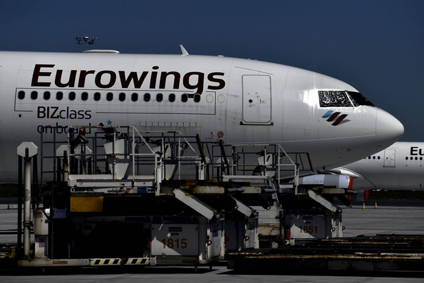 Lufthansa-dochter Eurowings schrapt banen en verkleint vloot