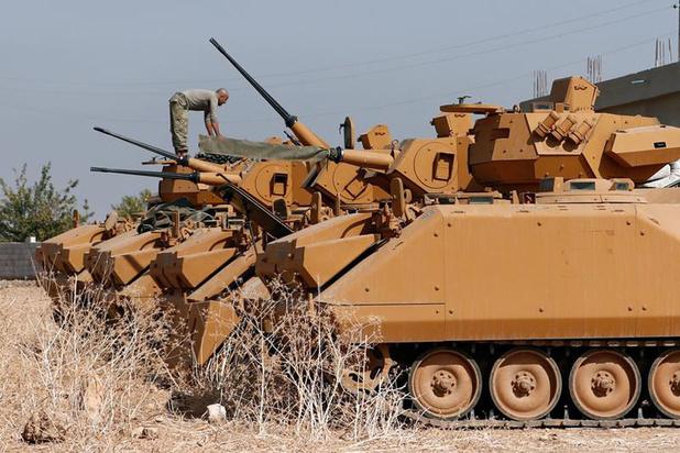 Amnesty: 'Turkije vervolgt honderden mensen die kritiek uitten op inval Syrië'