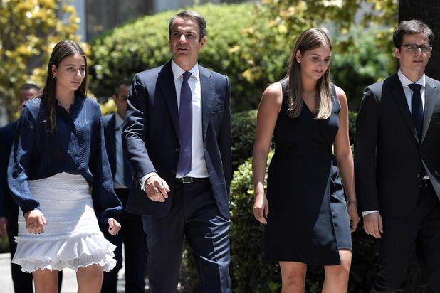 Griekenland: Kyriakos Mitsotakis legt eed af als nieuwe premier