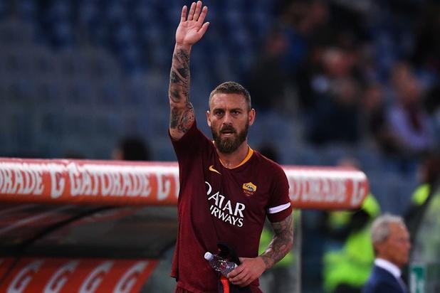 Clubicoon Daniele De Rossi verlaat AS Roma na 18 jaar