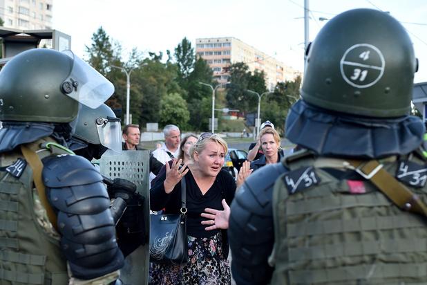 Les manifestations d'opposition en déclin au Bélarus