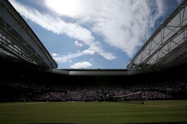 Regen geen spelbreker meer op Wimbledon