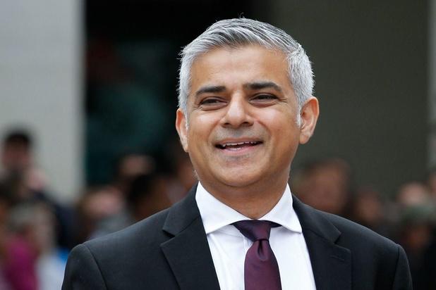 Londense burgemeester Sadiq Khan herkozen