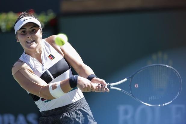 Bianca Andreescu (18) was vorig jaar nergens, nu tennist ze mee met de wereldtop