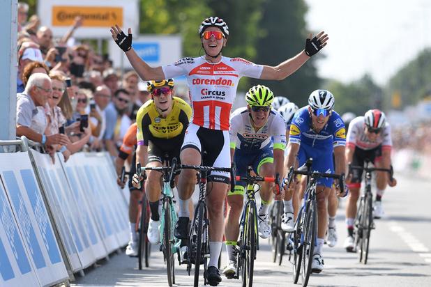 Tim Merlier is Belgisch kampioen wielrennen
