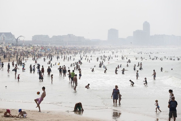 La Côte belge a attiré 3 millions de touristes d'un jour en juillet